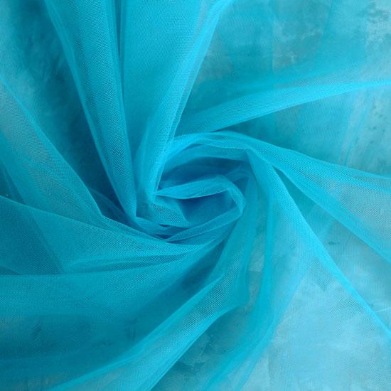 Мягкий фатин (еврофатин) 300*25 - Голубой