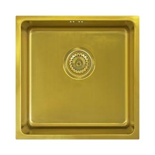 Мойка Seaman Eco Roma SMR-4444A Antique Gold (PVD) под столешницу