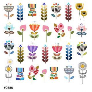 Слайдер-дизайн для ногтей № 0386