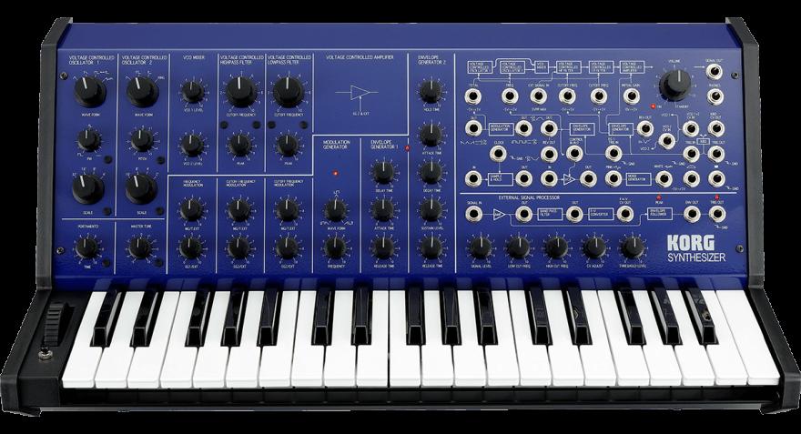 Korg MS-20 FS BLUE Аналоговый синтезатор