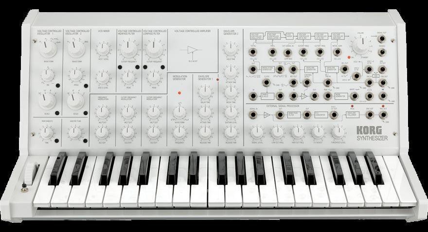 Korg MS-20 FS WHITE Аналоговый синтезатор