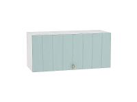 Шкаф верхний горизонтальный с увеличенной глубиной Прованс ВГ810 (голубой)