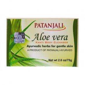 Аюрведическое мыло c Алоэ Вера (Aloe Vera Kanti Body Cleanser) от Патанджали ,75 гр
