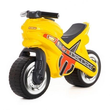 Каталка-мотоцикл МХ желтая 80578 П-Е