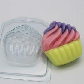 Форма для мыла и шоколада Мороженое/Мягкое в корзинке