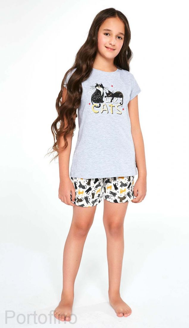 787-87 Пижама для девочек Cornette