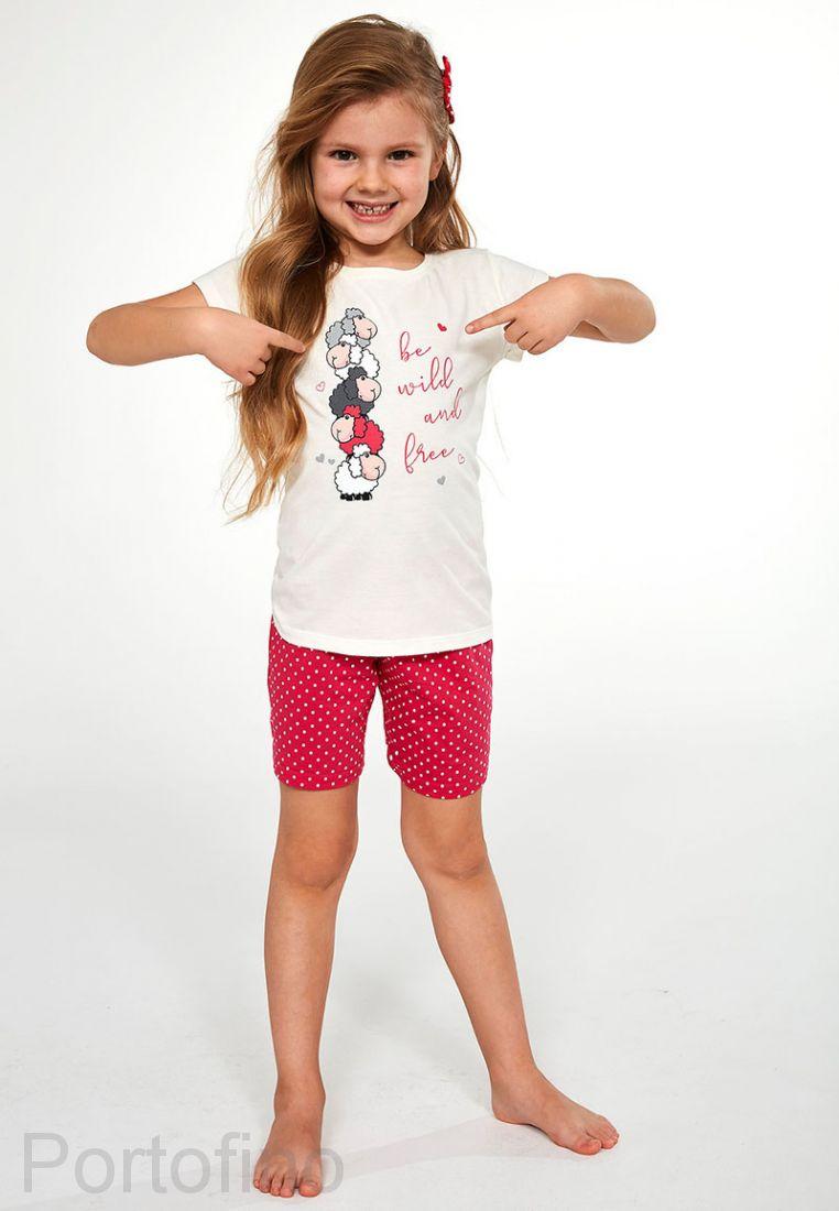 787-82 Пижама для девочек Cornette
