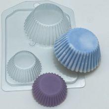 Форма для мыла и шоколада Тарталетки ребристые