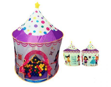 Игровой домик Ching-Ching CBH-16 Замок + 100 шариков