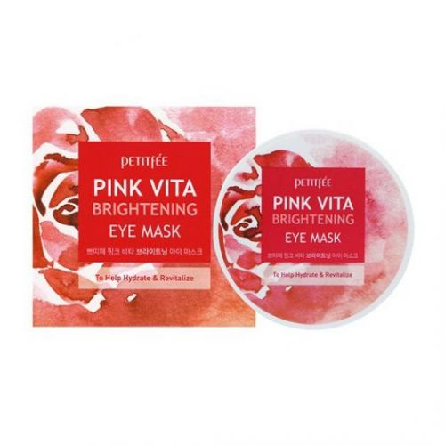 850498 Petitfee Тканевые патчи для кожи вокруг глаз Pink Vita Brightening Eye Mask