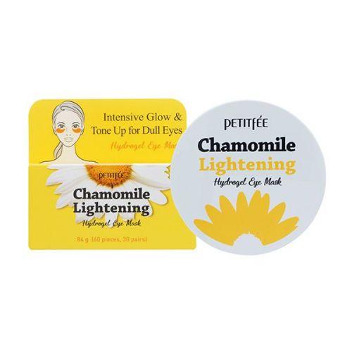850412 Petitfee Патчи для глаз с экстрактом ромашки Chamomile Lightening Hydrogel Eye Mask