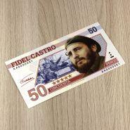 КУБА 50 песо (с водяными знаками) Фидель Кастро