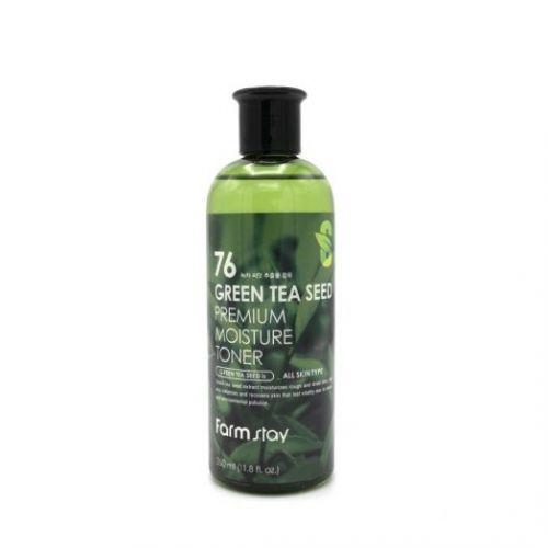 958993 FarmStay Тонер увлажняющий с семенами зеленого чая Green Tea Seed Premium Moisture Toner