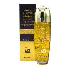 119854 FarmStay Лифтинг-эссенция с муцином королевской улитки Gold Escargot Noblesse Intensive Lifting Essence