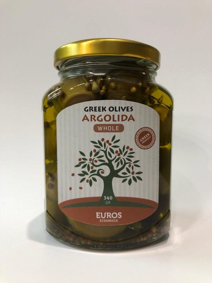 Оливки ГАЙДУРА в оливковом масле Extra Virgin 340 гр