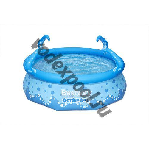 Надувной бассейн Bestway 57397 (274x76 см) с 2-мя разбрызгивателями