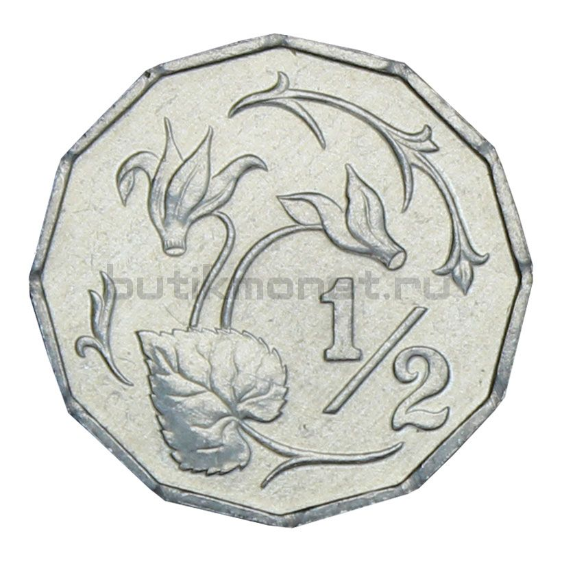 1/2 цента 1983 Кипр