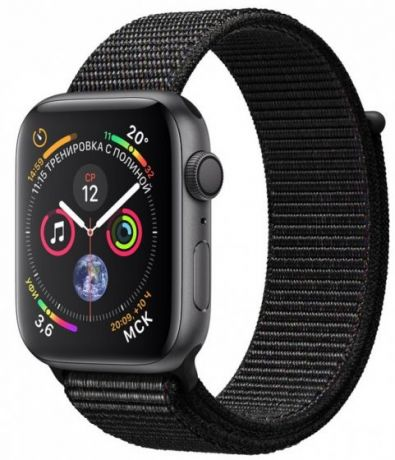 Apple Watch Series 4 GPS 44mm Loop Black