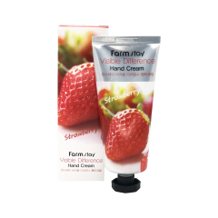 280464 FarmStay Увлажняющий крем для рук с экстрактом клубники Visible Difference Hand Cream Strawberry