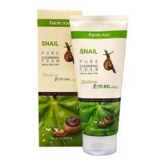 770852 FarmStay Пенка для умывания с улиточным муцином Snail Pure Cleansing Foam