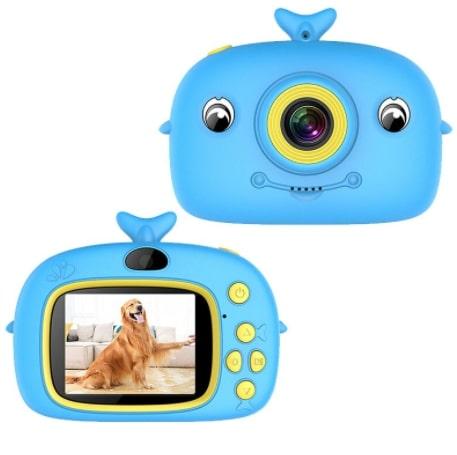 Развивающий детский цифровой фотоаппарат Дельфин - отличный подарок для юного фотографа, необходимый для художественного и интеллектуального развития.