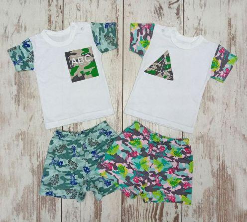 Костюм: футболка 2 кн., шорты kA-KS069(2)-ITk, интерлок