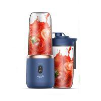 Беспроводная соковыжималка-блендер Xiaomi Deerma Fruit Cup 400ml Dark Blue (DEM-NU06 Plus)