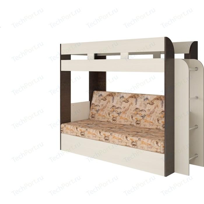 Кровать Карамель 75 (Geraffe Саванна)