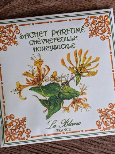 Ароматическое саше в бумажном пакете Le Blanc Жимолость
