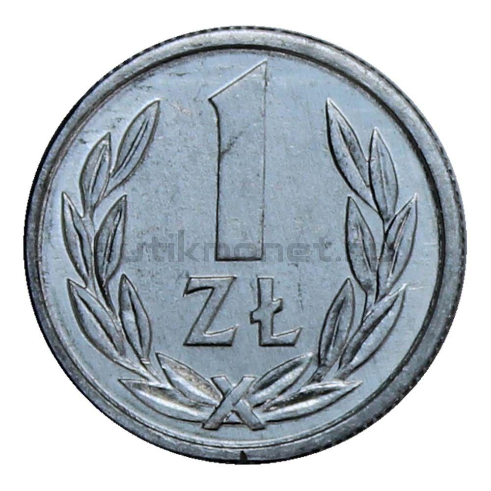1 злотый 1990 Польша
