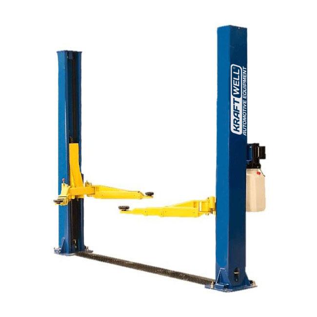 KraftWell KRW4DLM_blue Подъемник двухстоечный г/п 4000 кг. электрогидравлический