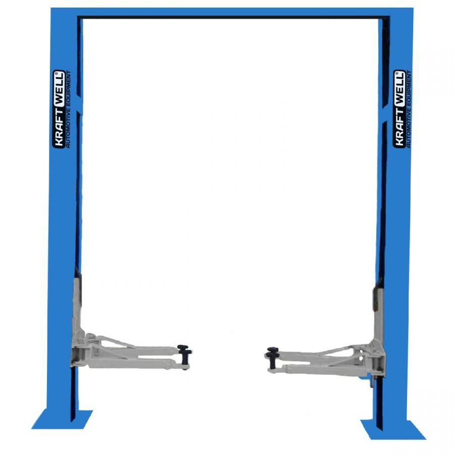 KraftWell KRW4DLU_blue Подъемник двухстоечный г/п 4000 кг. электрогидравлический