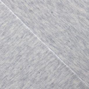 Трикотаж кулирка бело-серая меланж 50*30 см.