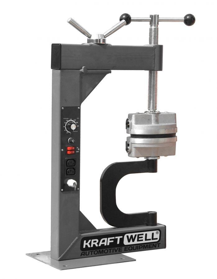 KraftWell KRW18VL Вулканизатор настольный с ручным прижимом
