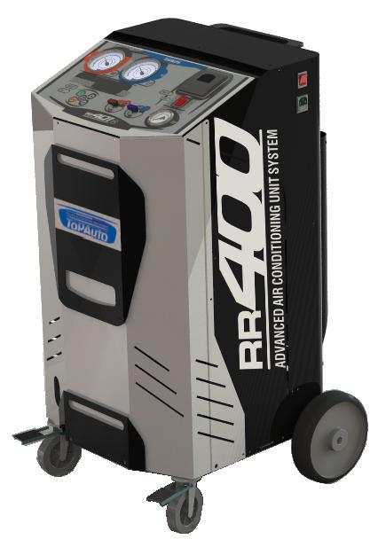 Станция автоматическая для заправки автомобильных кондиционеров TopAuto RR400