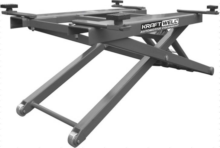 KraftWell KRW2.7 Подъемник ножничный г/п 2700 кг. мобильный