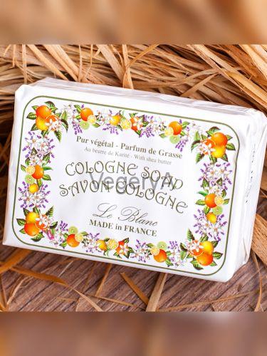 Мыло Le Blanc в бумажной упаковке Цитрусовая смесь