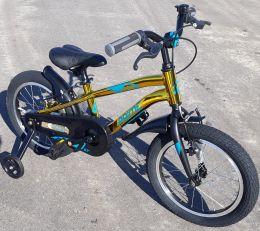 Велосипед Novatrack Prime 16 Золотой