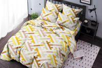 Бязь 1.5 спальный [коричневый] Лабиринт постельное белье