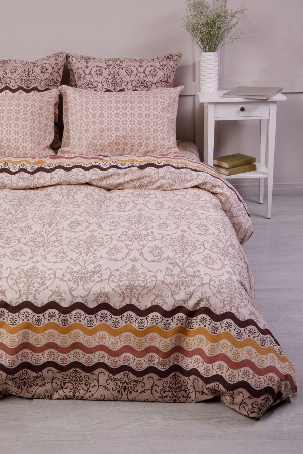 Бязь 2-х спальный [в ассортименте] Арабика постельное белье