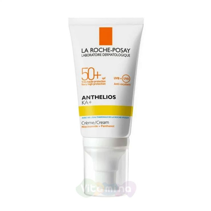 La Roche-Posay ANTHELIOS 100 KA+ Солнцезащитный крем для лица SPF 50+, 50мл