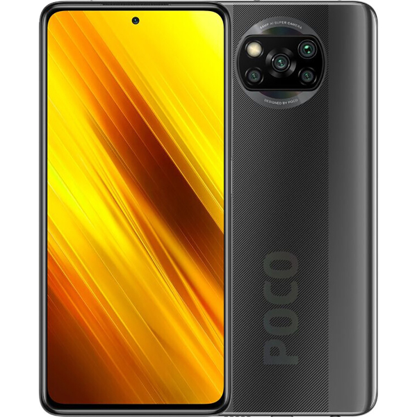 Смартфон Xiaomi Poco X3 6/64Gb Shadow Grey (NFC)