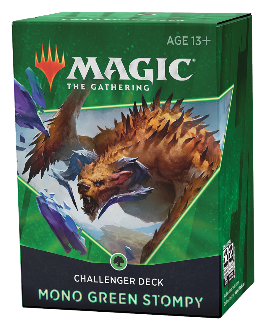 Magic: The Gathering - Mono Green Stompy