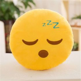 "Подушка Emoji ""ZZZ"" Эмоджи ""Спит"" 35 см"