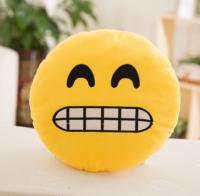 "Подушка Emoji ""Awkward Emoji"" Эмоджи ""Зубки"" 35 см"