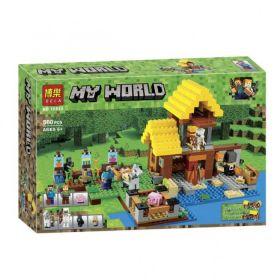 Конструктор Minecraft Фермерский домик