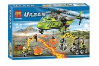 Конструктор City Грузовой вертолет исследователей вулканов