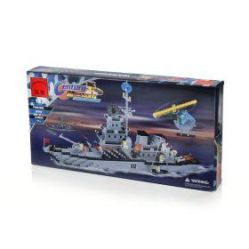 Конструктор Brick Военный корабль-ракетоносец