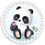 Круг 15 см. Панда baby