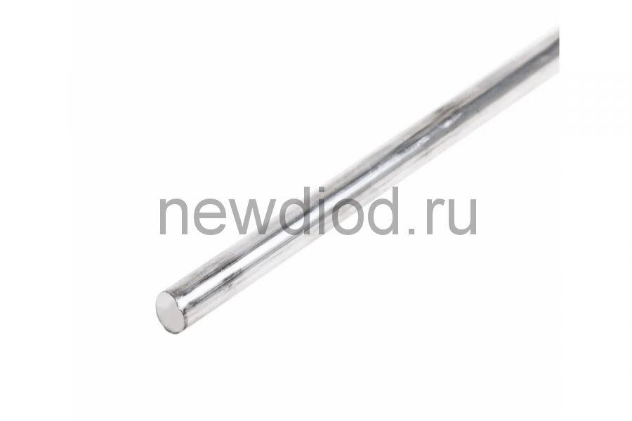 Припой пруток ПОС-40 REXANT, Ø8 мм, L=400 мм, 195±10 г, (олово 40%, свинец 60%)